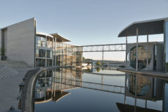 Architecture moderne à Berlin Photographie stock libre de droits