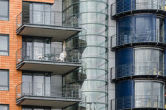 Architecture moderne à Berlin Photo libre de droits