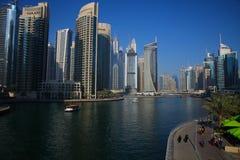 Architecture moderne à Dubaï Photo libre de droits