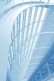 Architecture moderne à la construction d'aéroport images libres de droits