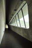 Architecture moderne à Taïwan Couloir d'intérieur Photographie stock libre de droits