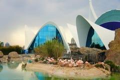 Architecture moderne à Valence Image stock
