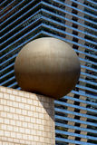 Architecture moderne au port olympique de Barcelone Photo stock