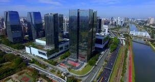 Architecture moderne Bâtiment moderne dans le monde banque de vidéos