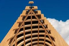 Architecture moderne - bois de construction stratifié collé photos stock