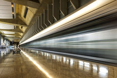 Architecture moderne d'aéroport de Hong Kong Photo stock