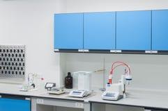 Architecture moderne d'intérieur de laboratoire de la Science photographie stock