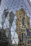 Architecture moderne dans Doha Photos libres de droits