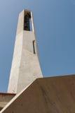 Architecture moderne dans la cloche moderne concrète de béton de style de Murla Photo stock