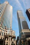 Architecture moderne de Manhattan Photo stock