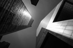 Architecture moderne de Manhattan Photographie stock