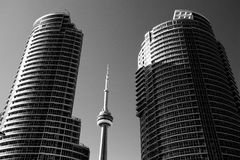 Architecture moderne de Toronto Photos libres de droits