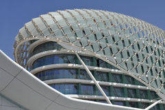 Architecture moderne en Abu Dhabi, Emirats Arabes Unis Photo stock