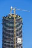 Architecture moderne en construction à Dubaï par Emaar photos libres de droits