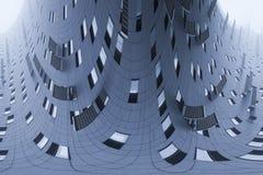 Architecture moderne, fond abstrait d'architecture Photographie stock libre de droits