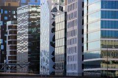 Architecture moderne d'Oslo Photo stock