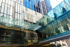 Architecture moderne, Sydney CBD, Australie Photos stock