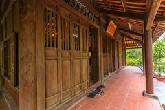 Architecture monastery gate with door structure classified Stock Image