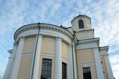 Architecture of a monastery in Novhorod-Severskyi Royalty Free Stock Photography