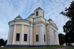 Architecture of a monastery in Novhorod-Severskyi Royalty Free Stock Photos