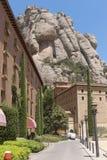 Architecture of Montserrat Royalty Free Stock Photo