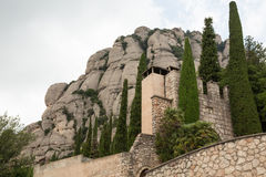 The Architecture of Montserrat Royalty Free Stock Images