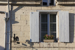 Architecture of Montsoreau Royalty Free Stock Photography
