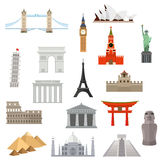 Architecture, monument or landmark icon Stock Image