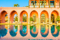 Architecture morocco style royalty free stock photo