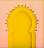 Architecture morocco style Stock Images