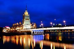 Architecture of the Moscow Royalty Free Stock Photo
