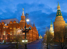 The Architecture Of Moscow. Royalty Free Stock Image