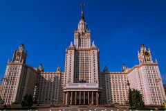 The architecture of Moscow Royalty Free Stock Photos