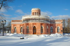 The architecture of the Museum-reserve `Tsaritsyno` Stock Image