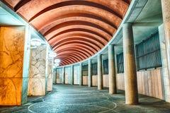Architecture néoclassique dans le secteur d'EUR, Rome, Italie image libre de droits