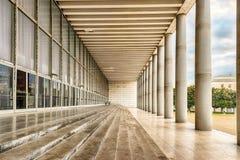 Architecture néoclassique dans le secteur d'EUR, Rome, Italie photographie stock