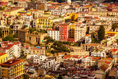 Architecture of Naples City Stock Photos