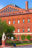 Architecture of National Building Museum in Washington DC, USA. Royalty Free Stock Images
