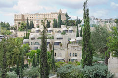 Architecture and nature of the city of Bethlehem. Stock Photos