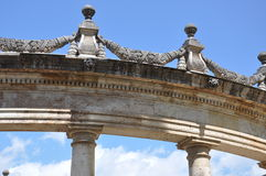 Architecture neoclassical style buildings arches Royalty Free Stock Image