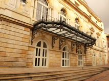 Architecture of neoclassical theater stock photo
