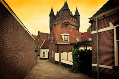 The architecture in Netherlands Royalty Free Stock Images