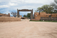 Architecture, New Mexico pueblo Royalty Free Stock Photos