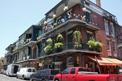 Architecture in New Orleans Stock Photography