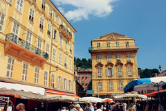 Architecture in Nice, France Stock Images