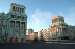 Architecture in Norilsk (Russia) Stock Photography