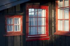 Architecture norvégienne Photographie stock libre de droits