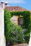 Architecture in Obidos, Portugal Royalty Free Stock Images