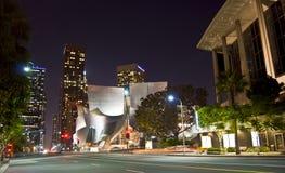 Architecture occupée de ville Photo stock