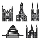 Architecture. Oceania. Vector Illustration. illustration EPS Stock Image